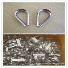316ss DIN6899b Kabel Fingerhut Rigging Hardware