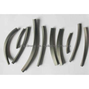 Tiras de carburo de tungsteno espiral con alta calidad