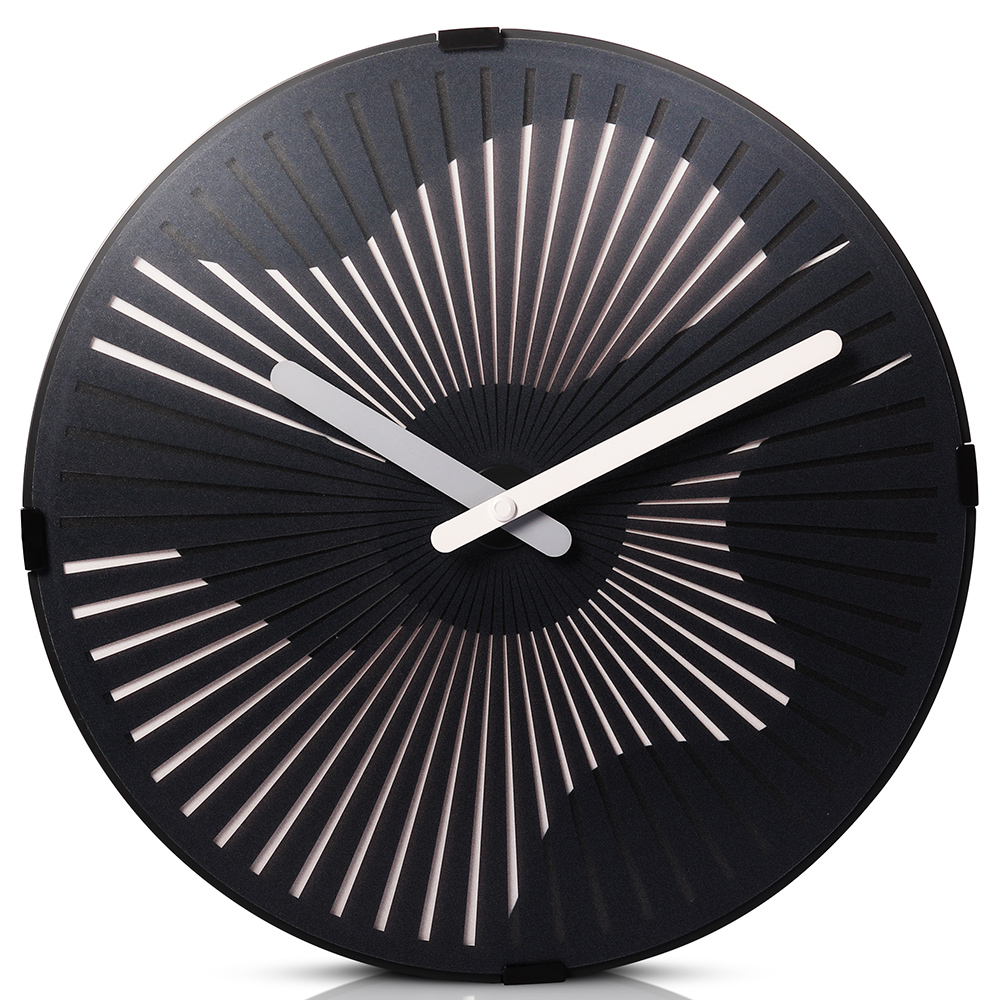 Motion Wall Clock- Playing the Guitar
