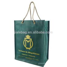 роскошные складной ЭКО Non сплетенная прокатанная хозяйственная сумка многоразовые
