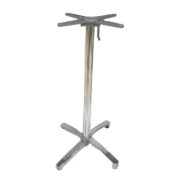 ALUMINUM HIGH AND LOW TABLE BASE FURNITURE