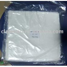 Chiffon de nettoyage en microfibre de 6 po x 6 po (ventes directes en usine)