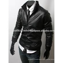 new classic design mens leather jacket and windbreaker warm jacket