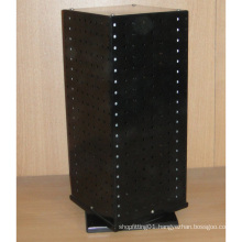 Counter Top Metal Revolving Pegboard Rack (PHY190)