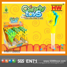 Funny Plastic Clapper Soft Candy With Toys (12pcs /Display box)