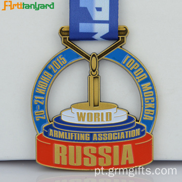 Customized Design Logo Souvenir Medal