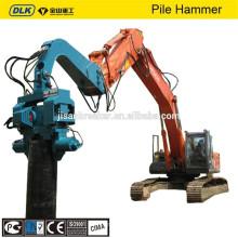 Controlador de pila PC300 y martillo hidráulico de pila vibratoria