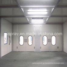 Cabines de pintura industrial para pintura e cozimento