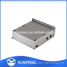 Boîtier électronique imperméable à l'estampe en acier