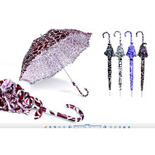 Water Ripple Print Dome Lace Umbrella (YS-SM23083904R)