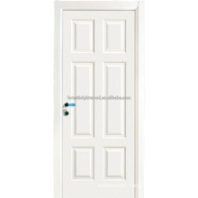 6 Panel White primed Swing MDF Interior Doors
