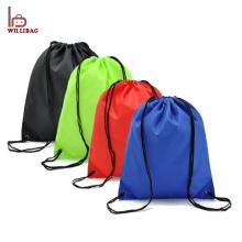 Cheap promocional personalizado saco de cordão