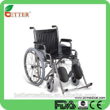 Foshan wheelchair with elevating footrest--FDA,CE,ISO13485