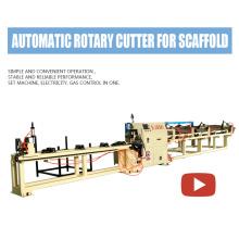 Scaffold Vertical Pole Automatic Cutting Machine