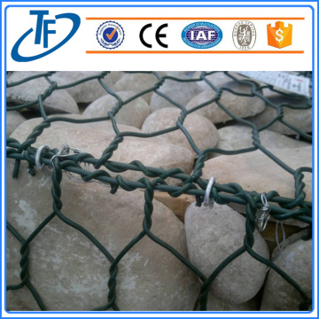 welded gabion basket, military hexagonal wire netting