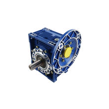 NMRV series worm gear reducer 1:15 aluminium alloy NMRV063 40:1 worm transmission gearbox