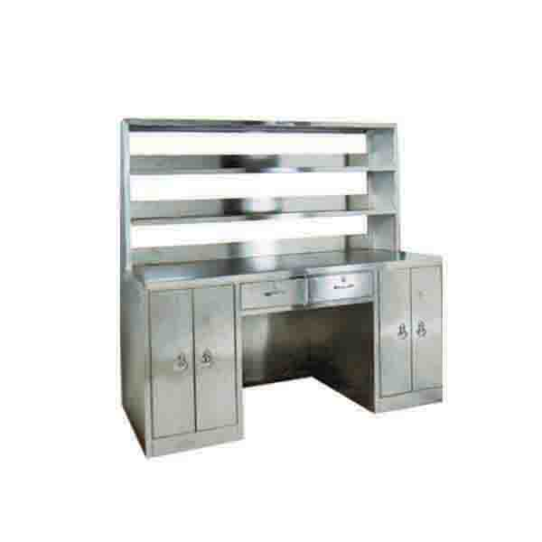Stainless Steel Type Ii Workbench With Reagent Rack