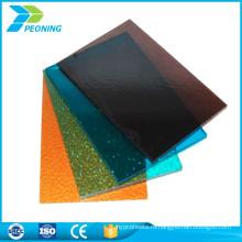 Устойчивость к коррозии прозрачный лист поликарбоната прозрачный пластиковый лист солнечной панели Толя