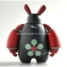 High Quality Cute Hotsell Rotocast Vinyl Plastic Robot Kids Toys