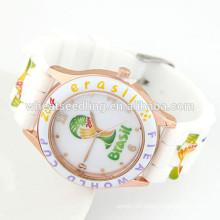 Fashion sports watch cheap silicon custom watches