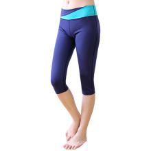 Desempenho de alta qualidade mulheres Capri Yoga Pant para esportes
