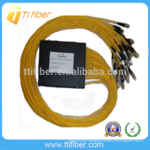 1X32 FC/UPC PLC ABS type fiber optic splitter