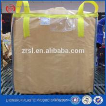 Type B big 1ton pp jumbo bulk bag,pp conductive jumbo big bag ,anti static big bag