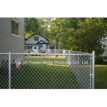Наружная сваренная ячеистая сеть ограждения сада / PVC покрыла забор сада / PVC покрыл забор сада