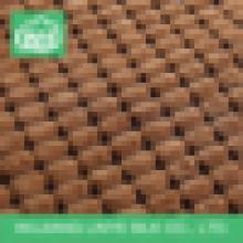 Tecido de poliéster de veludo, tecido de malha de almofada