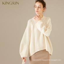 Woman 100% Merino Wool Winter Pullover Ladies Knitwear