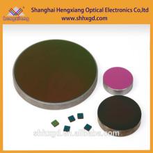 Lente óptica personalizada para la pureza de 99,999% de lente de germanio