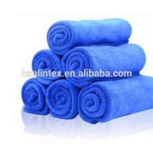 China fabricação absorvente seco seco microfibra toalha limpeza de lavagem de carro