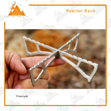 Alkohol-Brenner Halterung Anti-Rutsch Portable Faltung Titan Rack