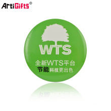 Wholesale Promotion Cheap Custom logo metal button badge safety pin