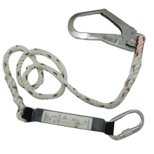 Fall Protection Adjustable Non-Shock Safety Lanyard