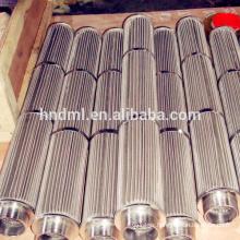 Élément filtrant de fonte de connecteur standard d'élément filtrant aggloméré adapté aux besoins du client de filtre métallique de grillage d'acier inoxydable