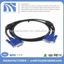 VGA между мужчинами и женщинами ПК-монитор ЖК-кабель 5 FT