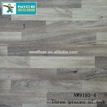 NWseries Три куска дубового паркета HDF core Flooring