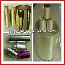 Gold-Polyester-Metall-Garn-Film
