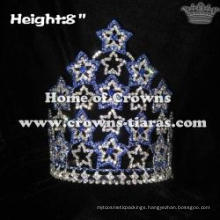8inch Star Shaped Crystal Pageant Crowns Collections