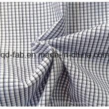 100% fio de algodão tingido tecido (QF13-0397)