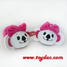 Plush Soft Bear Slippers