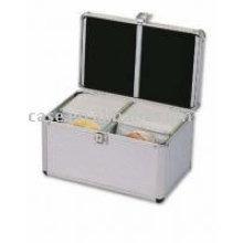 Aluminum CD/DVD box 200cds
