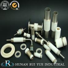 96% alúmina precisión piezas de cerámica con metalización