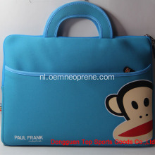 Paul Frank Blue Waterdichte Neopreen Laptoptassen