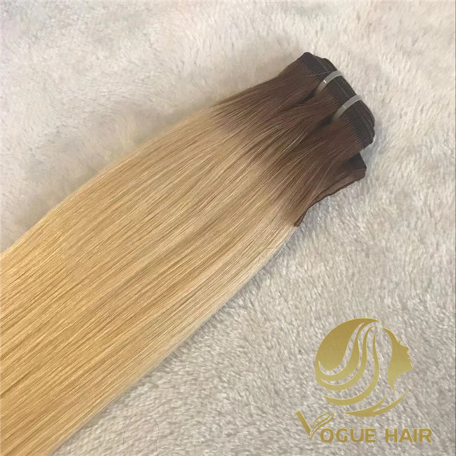 flat weft hair extensions wholesale