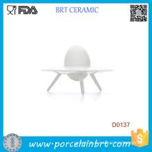 Новая мода форме Невредное НЛО Керамическая чашка Eggg