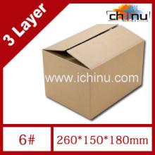 Caixa de papel de papelão ondulado de três camadas / caixa de embalagem / caixa de papel de embalagem (1286)