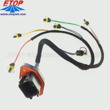 Harnais de fil d'injection de carburant de moteur diesel fait sur commande avec les connecteurs DTV02-18