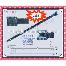 Vedação de cinta metálica de segurança BG-T-002, vedação de metal, vedação de selo de metal, cinta de vedação, trava de contêiner